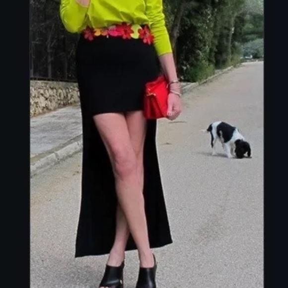Zara Dresses & Skirts - Zara black hi-low skirt. Size M